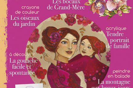 couverture du magazine plaisirs de peindre numéro 45