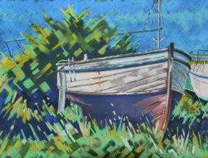 Pastel bateau regnéville