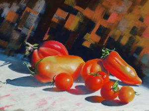 Pastels les tomates