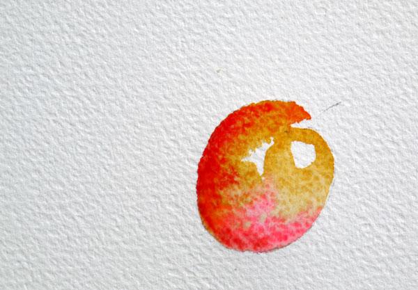 pas à pas aquarelle watercolor astuce ombre étape 4
