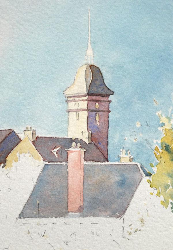 Optimisation aquarelle saint bomer detail detail toiture 16