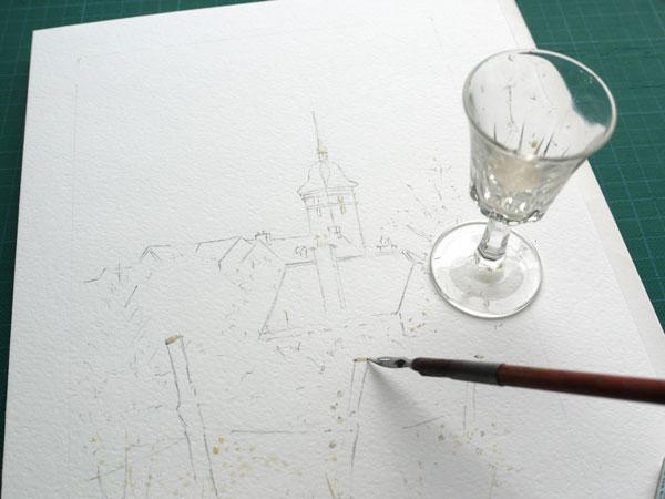 Optimisation aquarelle saint bomer drawing gum2