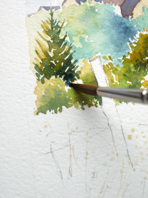 Optimisation aquarelle saint bomer ombre arbres bosquet 23
