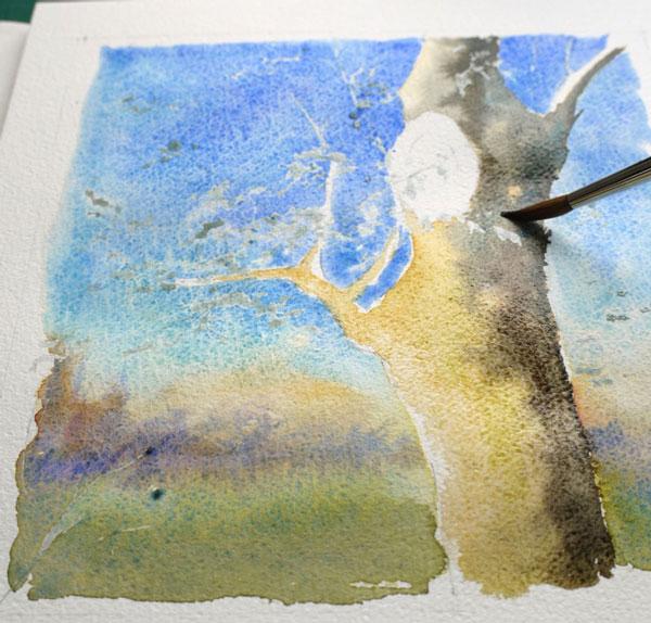 optimisation aquarelle ombre arbre couleur arbre2