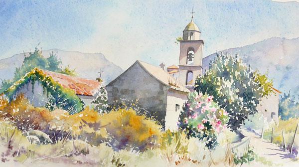 église de santa-maria en corse