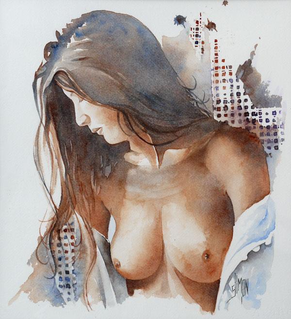 Portrait nues