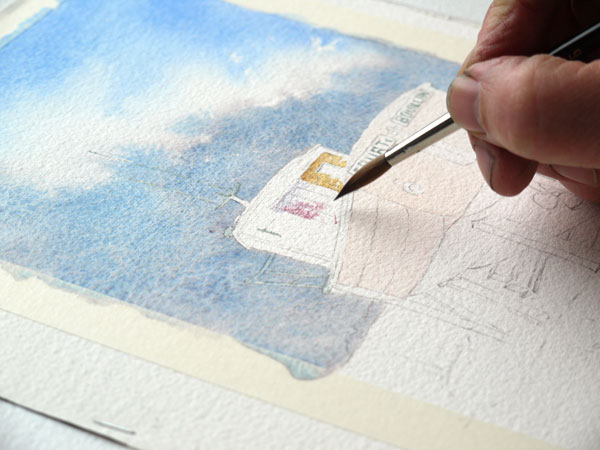 peindre la cabine