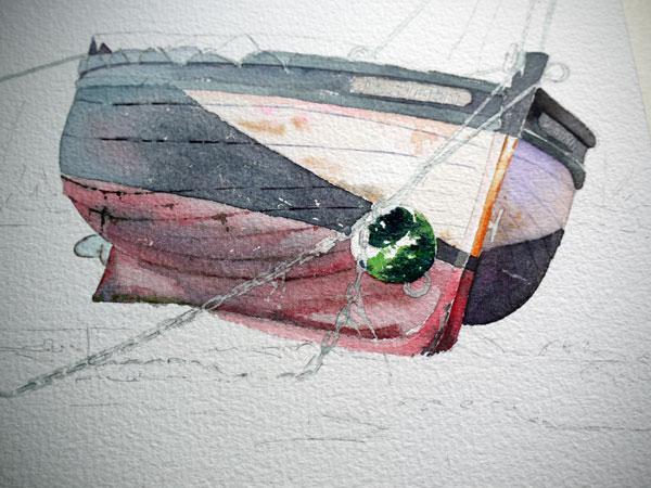 09 aquarelle la bouée