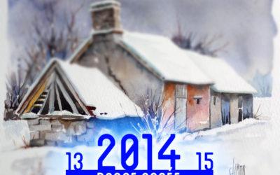 Carte de voeux – Happy 2014!