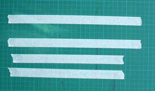 aquarelle watercolor decoupe ruban adhesif