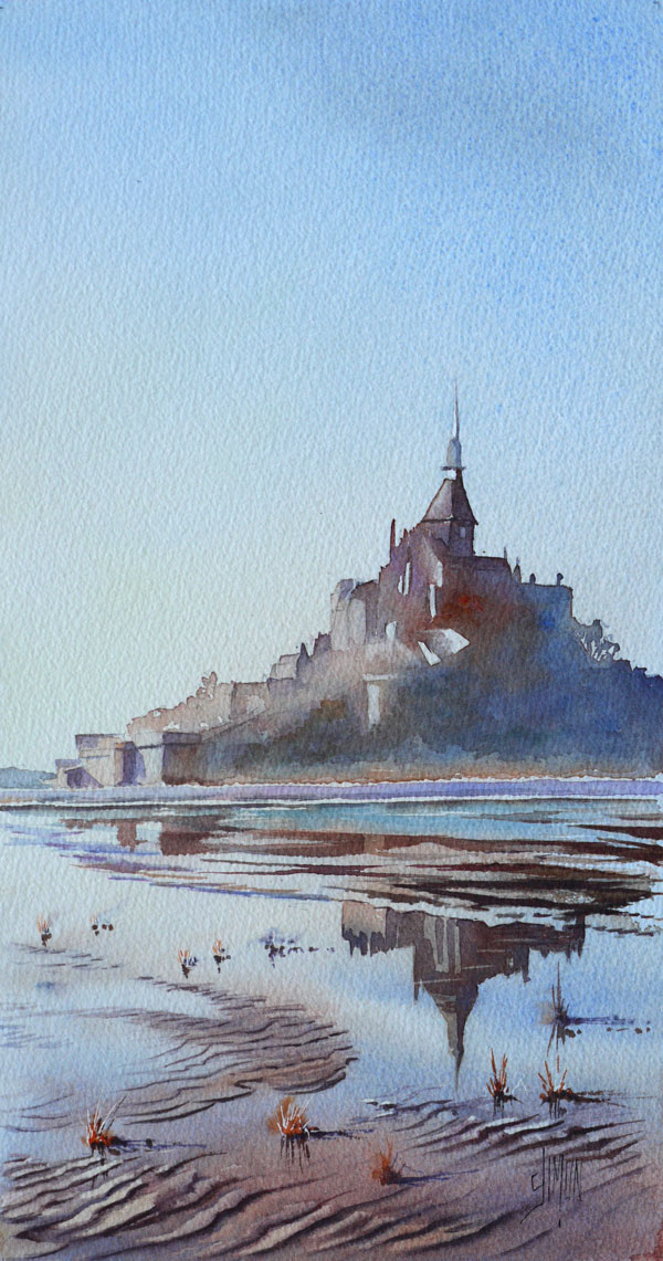 Optimisation Reflets Mont saint michel