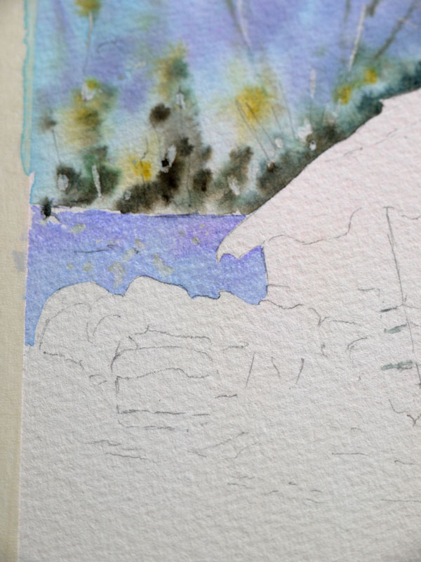aquarelle-watercolor-baraque-neige-11