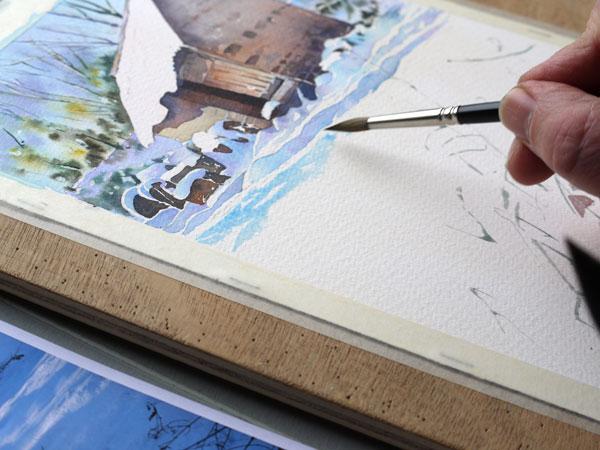 aquarelle-watercolor-baraque-neige-28