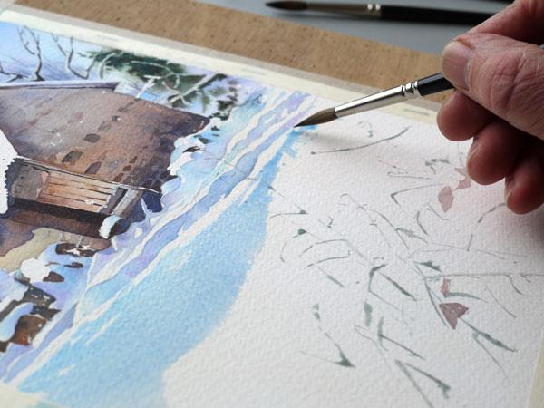 aquarelle-watercolor-baraque-neige-30