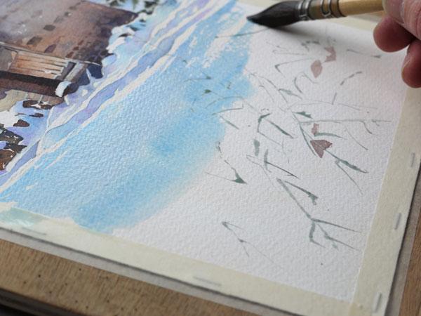 aquarelle-watercolor-baraque-neige-31