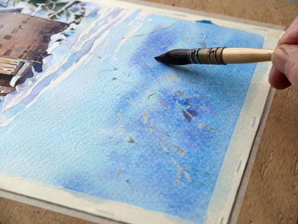 aquarelle-watercolor-baraque-neige-35