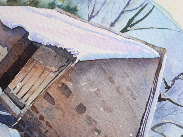 aquarelle-watercolor-baraque-neige-37