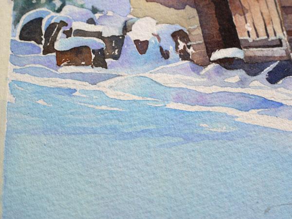 aquarelle-watercolor-baraque-neige-39