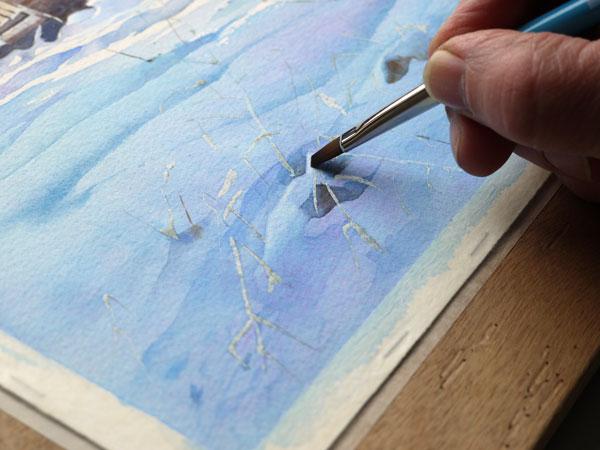 aquarelle-watercolor-baraque-neige-43