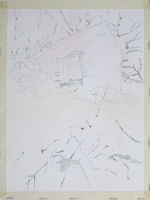aquarelle-watercolor-baraque-neige-6