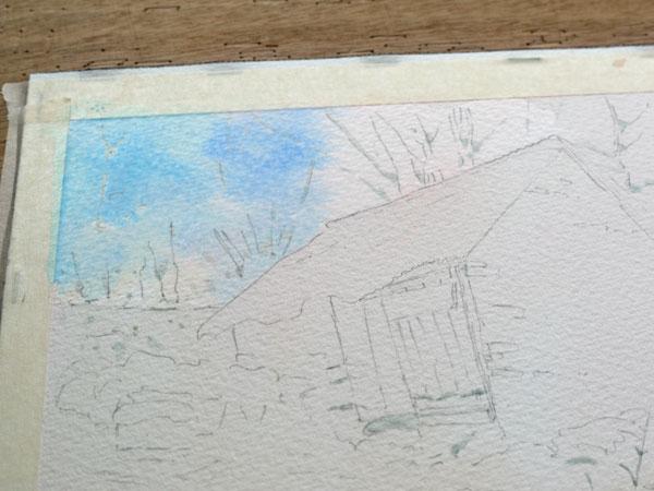 aquarelle-watercolor-baraque-neige-7