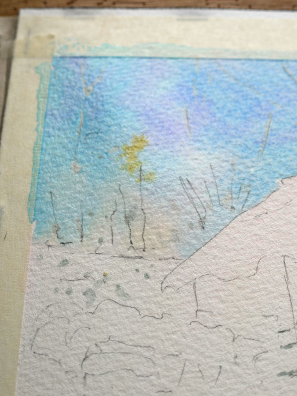 aquarelle-watercolor-baraque-neige-9