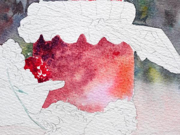 19-Aquarelle-joel-simon-pot-confiture-Framboises