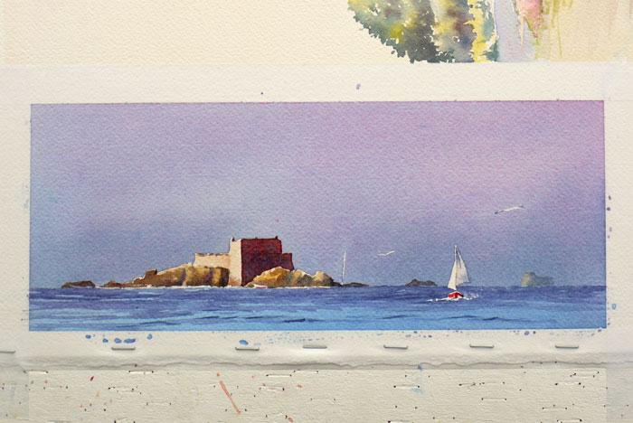 26 Fort Harbour devant st Malo