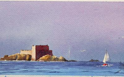 Fort Harbour devant Saint-Malo