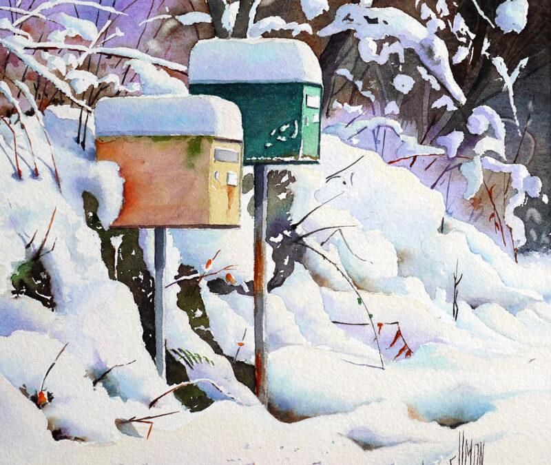Pas de courrier aujourd'hui