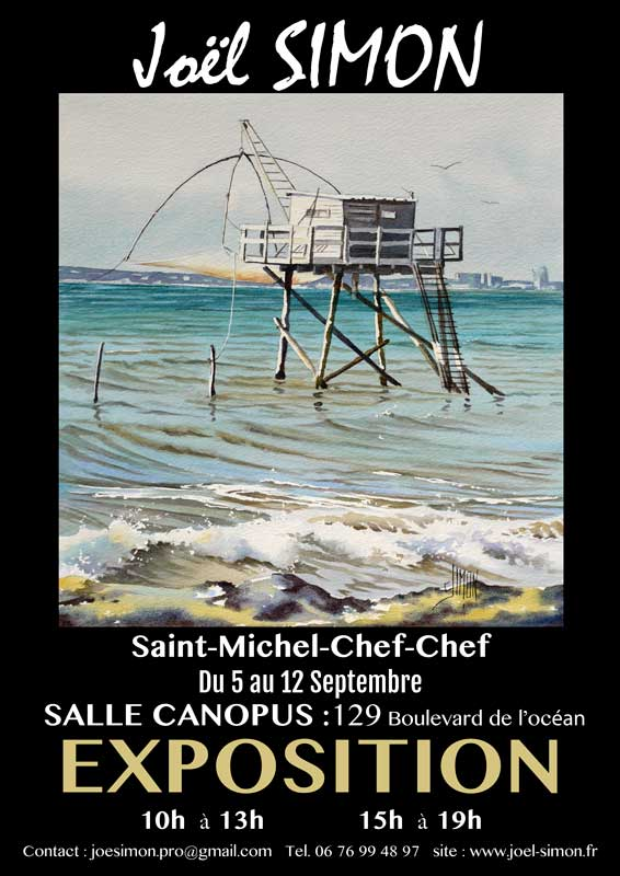 affiche exposition saint michel chef chef